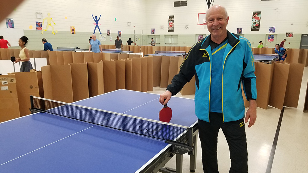 Founder of Michigan Table Tennis Academy