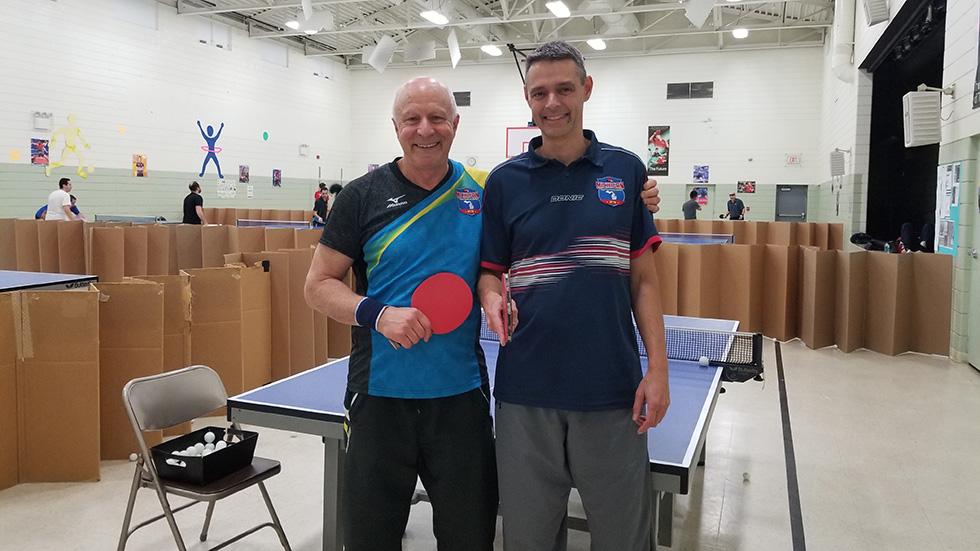 Staff of Michigan Table Tennis Academy
