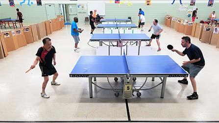 Compete in Table Tennis