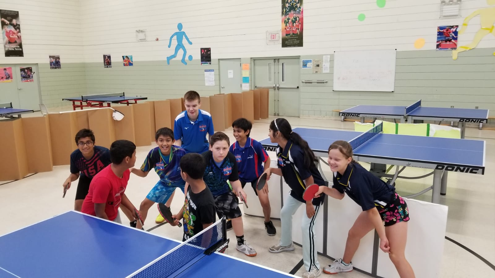 Training Michigan Table Tennis Academy